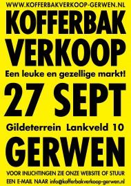 Kofferbakverkoop Gerwen @ Het Heilig Kruisgilde / De Schutsherd   Nuenen   Noord-Brabant   Nederland