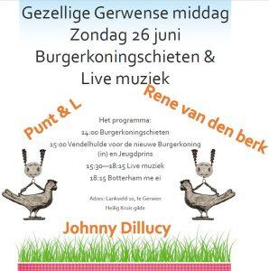 Gezellige Gerwense middag  Burgerkoningschieten & Live muziek @ Heilig Kruis gilde | Nuenen | Noord-Brabant | Nederland