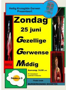 Gezellige Gerwense Middag @ D'n Schutsherd   Nuenen   Noord-Brabant   Nederland