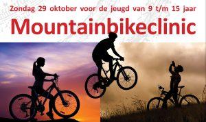 Mountainbikeclinic voor de jeugd van 9-15 jaar