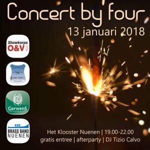 Concert by four @ Het Klooster | Nuenen | Noord-Brabant | Nederland