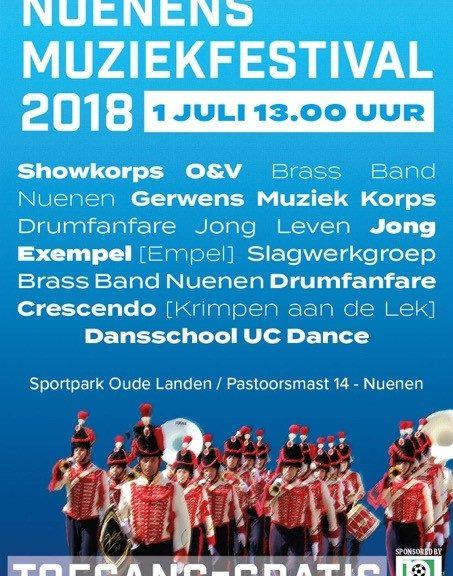 Nuenens muziekfestival 2018