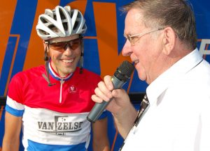 Jan Peeters interviewt Nederlands kampioen Job Vissers