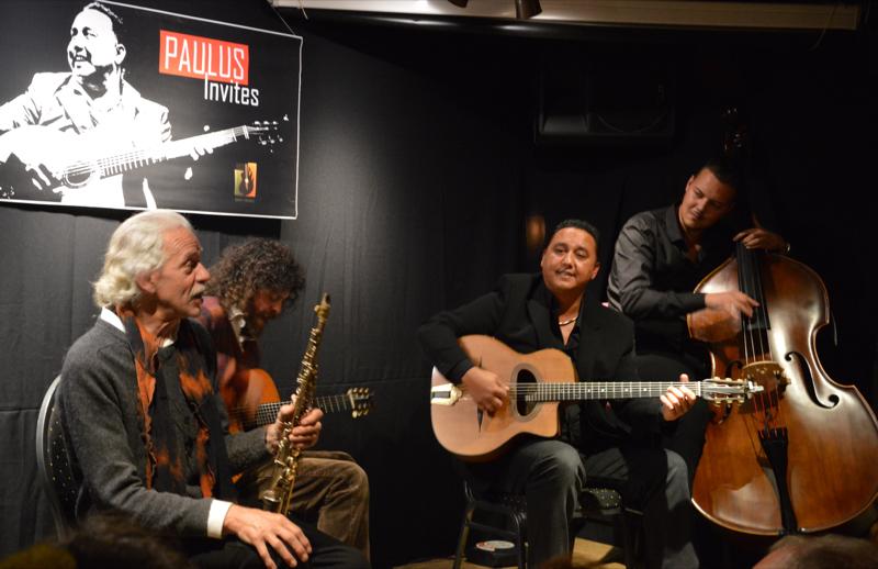 Gitarist Paulus en contrabassist Noah komen 28 december met de familie Schäfer op het podium in De Stam.