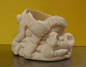 Kinderworkshop: 'gekke gezichten bakje' van brooddeeg maken