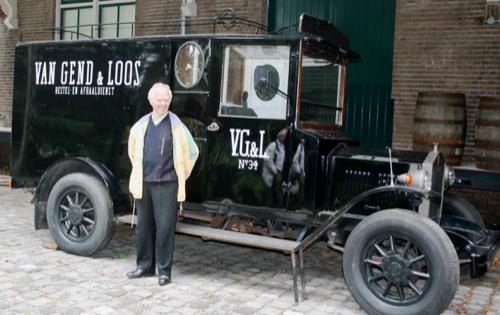Noud was jarenlang chauffeur bij Van Gend & Loos