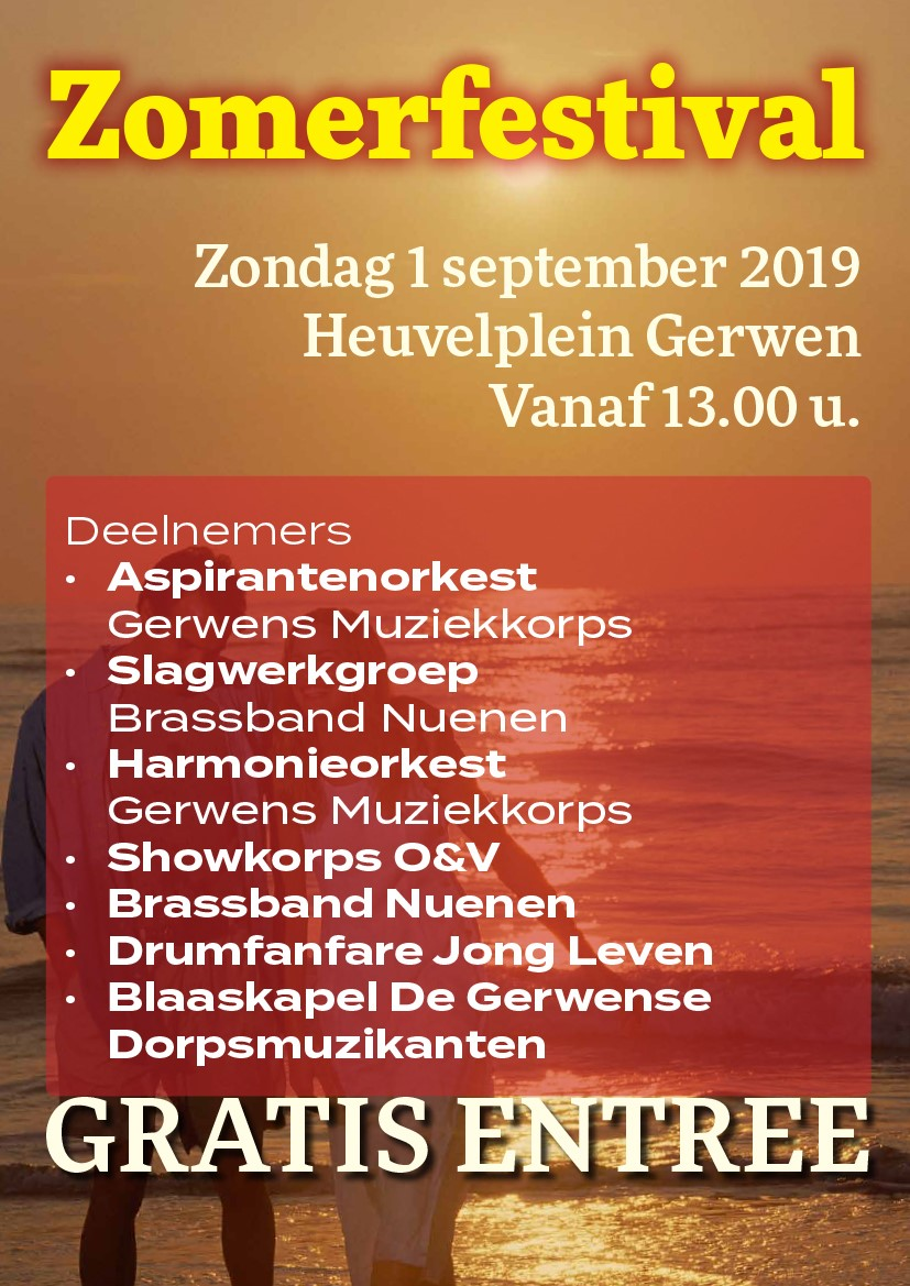 Zomerfestival 1 september