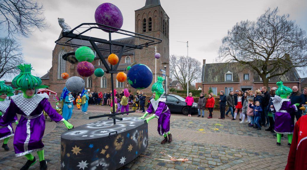 Carnavalsoptocht in Gerwen