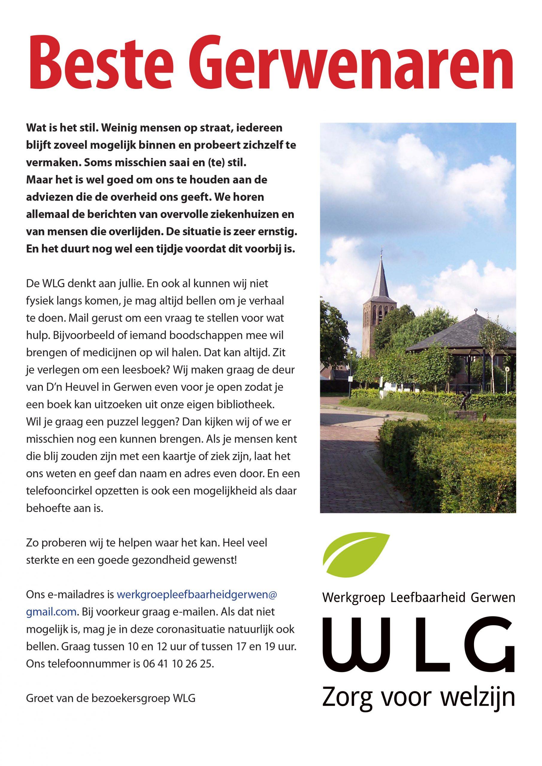 Poster WLG coronahulp